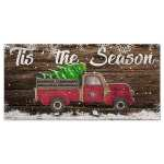 49ers Christmas Truck Sign