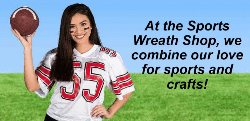 Sports Wreath Shop Banner