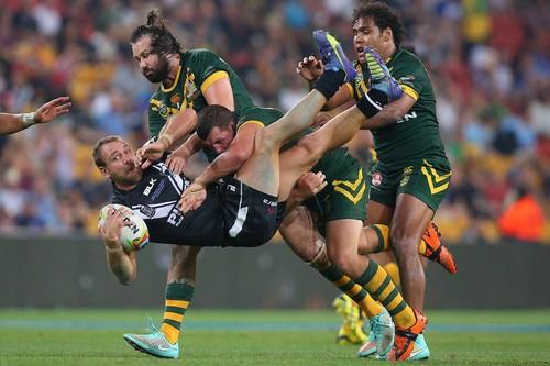 Australian Kangaroos vs New Zealand Kiwis