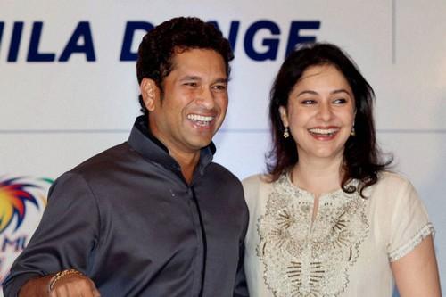 Sachin Tendulkar-Anjali Tendulkar