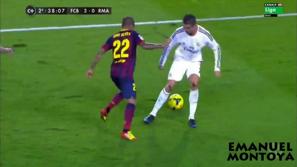 Dani Alves war with Cristiano Ronaldo