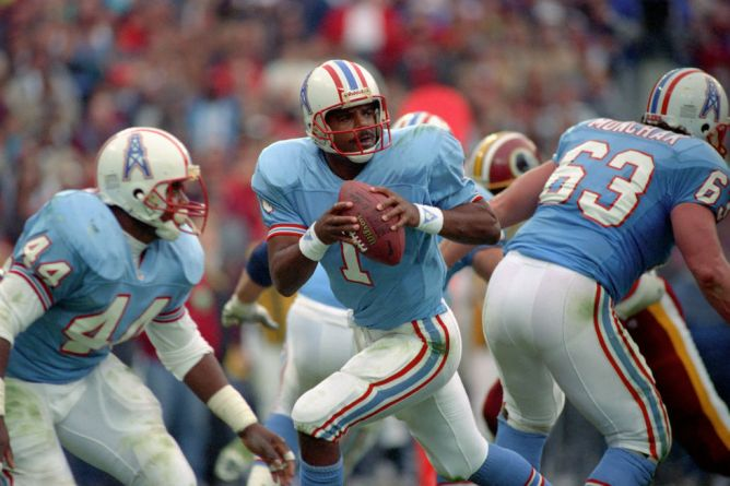 #4. Houston Oilers (17 games)
