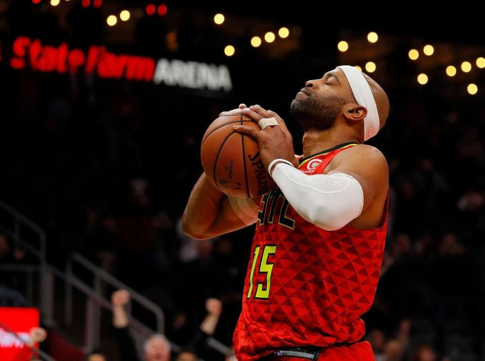 Vince Carter most seasons in nba