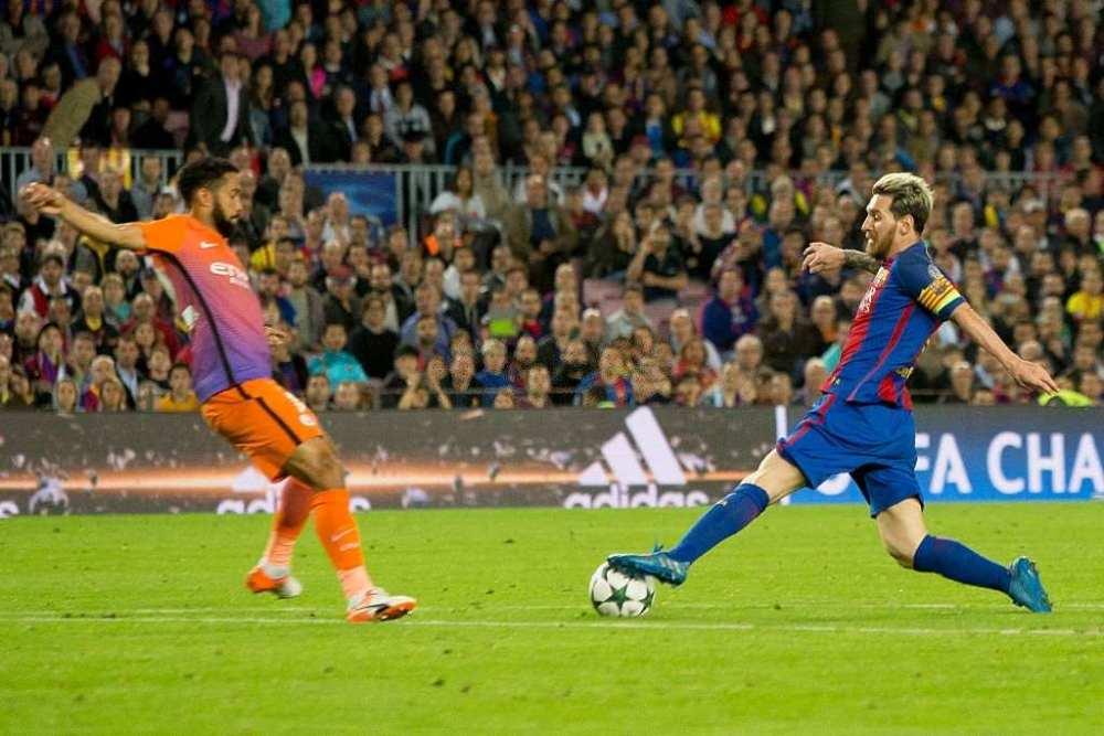 Lionel Messi accuracy