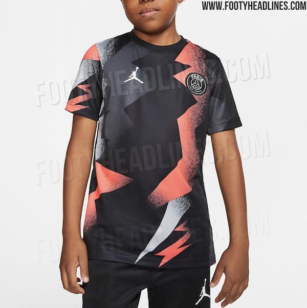 le futur maillot pre match jordan 2020