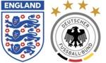 fussball länderspiel: deutschland in england