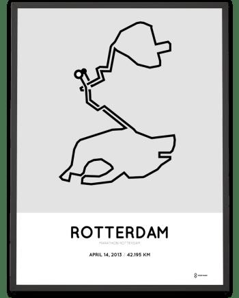 2013 Marathon Rotterdam poster