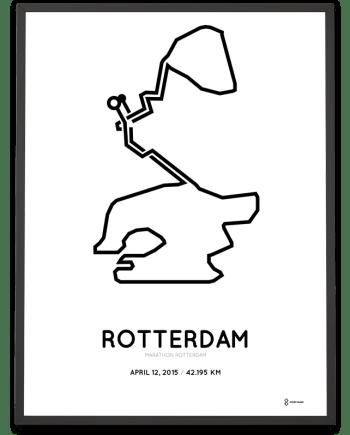 2015 Marathon Rotterdam poster