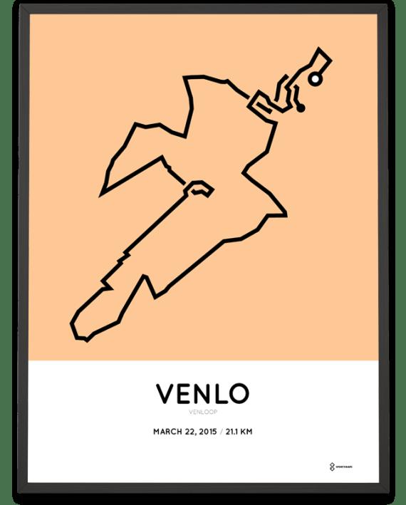 2015 Venloop poster