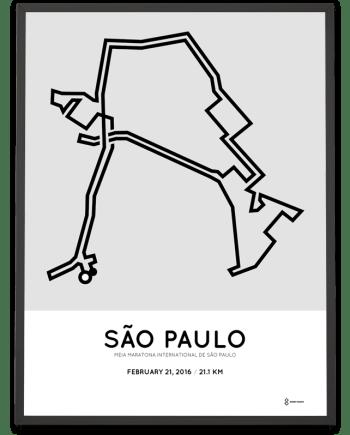 2016 Sao Paulo half marathon
