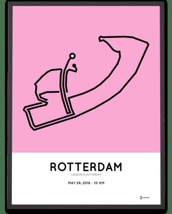 2016 Ladiesrun rotterdam 10km course