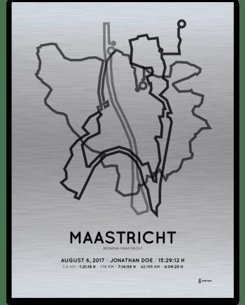 2017 Maastricht Ironman aluminum print