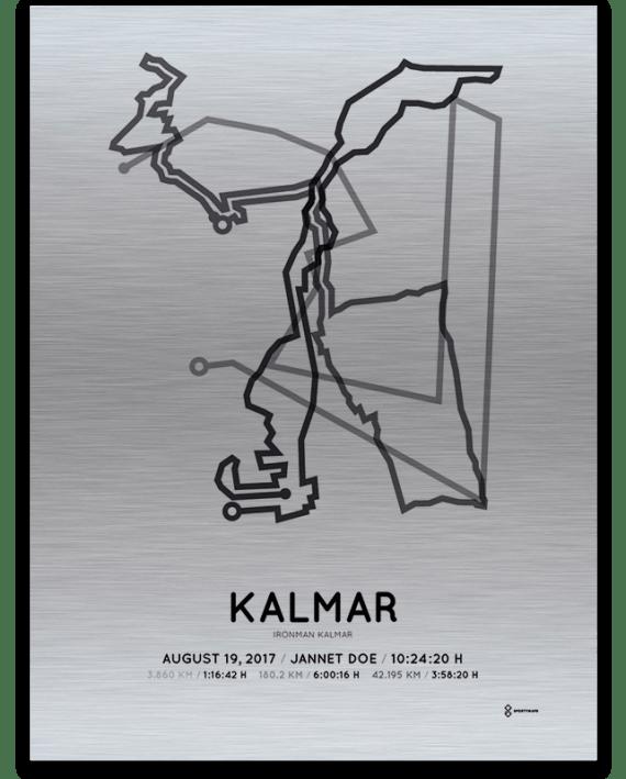 2017 Kalmar Ironman aluminum parcours print