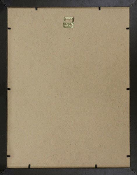Sportymaps black wooden frame backside