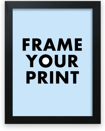 Frame your Sportymaps print