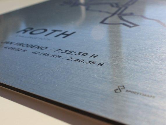 Challenge Roth aluminum print