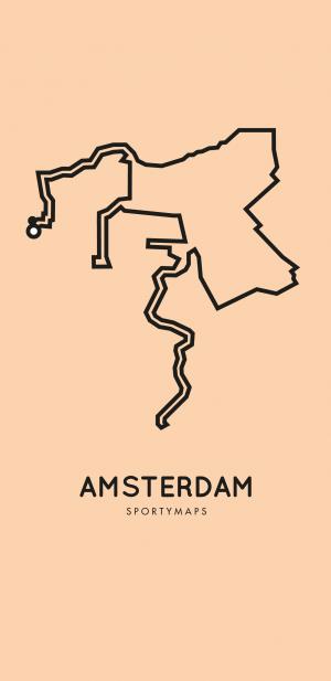 Sportymaps-Amsterdam-marathon-orange