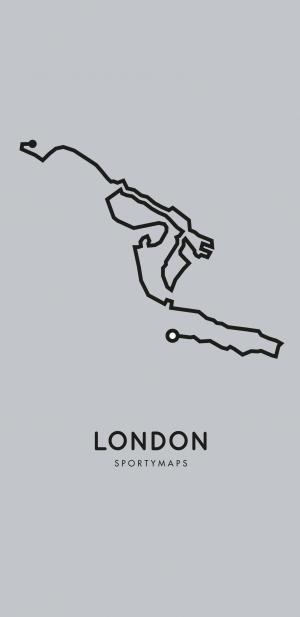 Sportymaps-London-marathon-gray