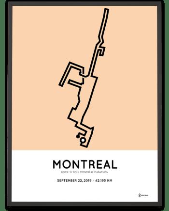 2019 Montreal marathon marathonermap