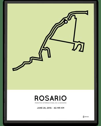 2016 Maratón Internacional de la Bandera course poster