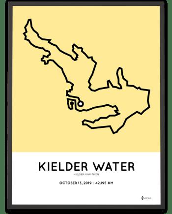 2019 Kielder marathon course poster