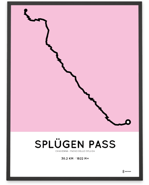 Passo dello Spluga course print