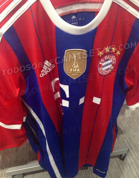 FOTO. La camiseta del Bayern 2014 15