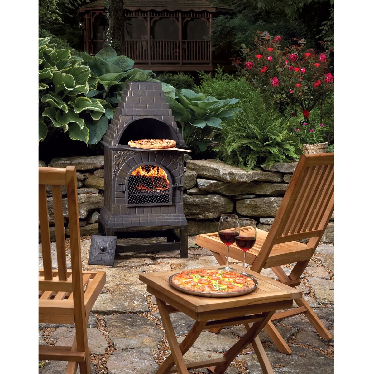 3-in-1 Outdoor Pizza Oven - from Sportys Preferred Living on Outdoor Patio With Pizza Oven  id=28902