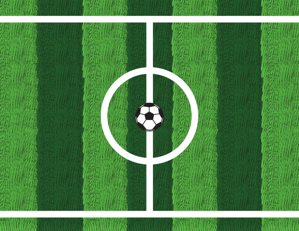 Center Mark in Football