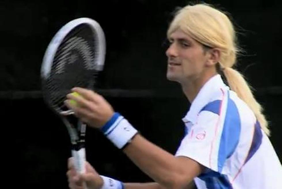 Novak Djokovic Mimics