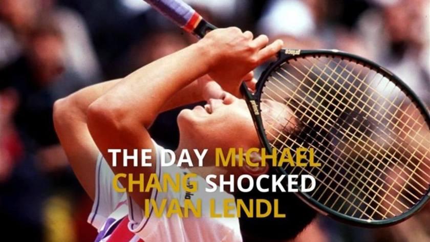 Micheal chang vs Ivan Lendl, 1989 Fourth Round Match