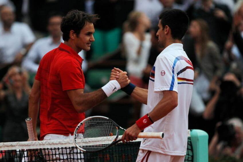 Novak Djokovic vs Roger Federer, 2011 Semi finals