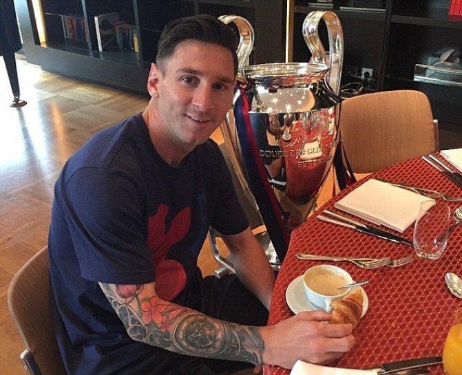 Lionel Messi Diet