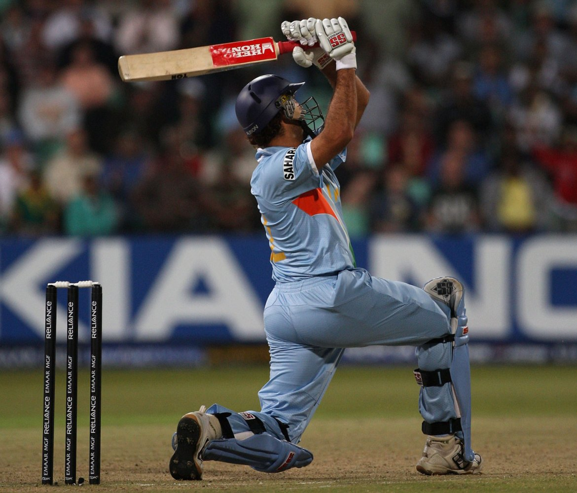 Yuvraj Singh's Six Sixes in an Over