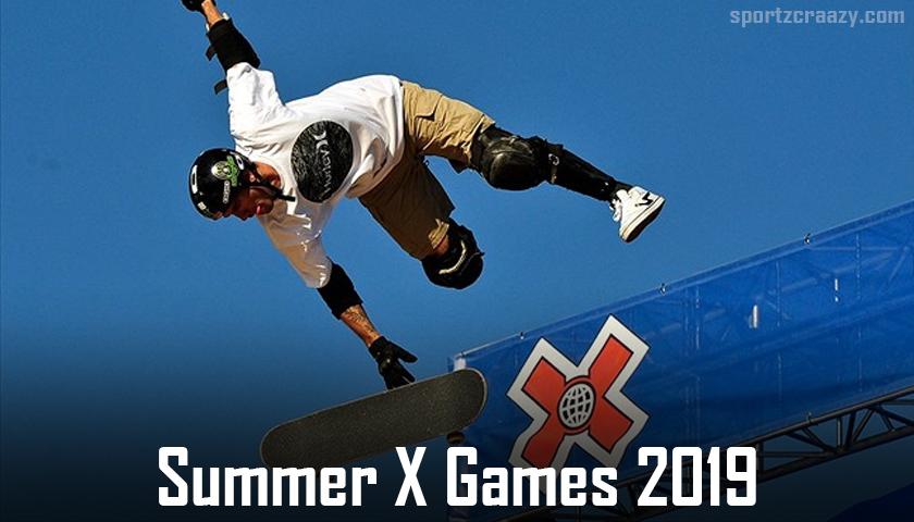 Summer X Games 2019