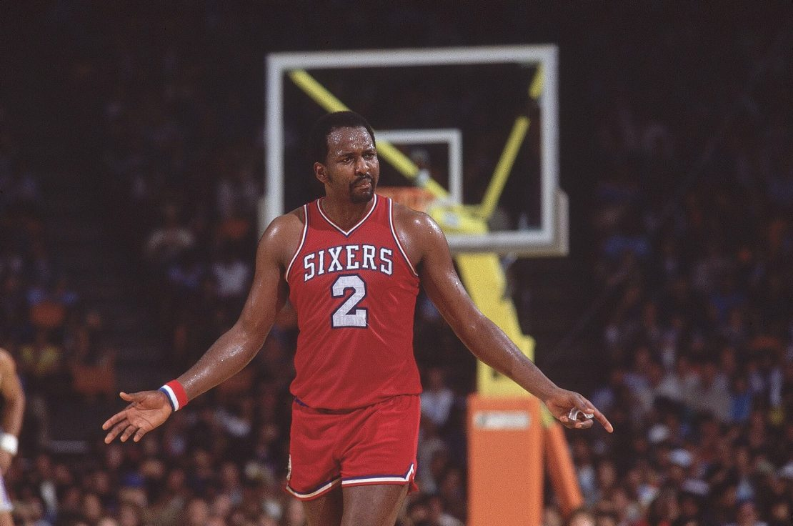 Moses Malone a NBA Score Leaders