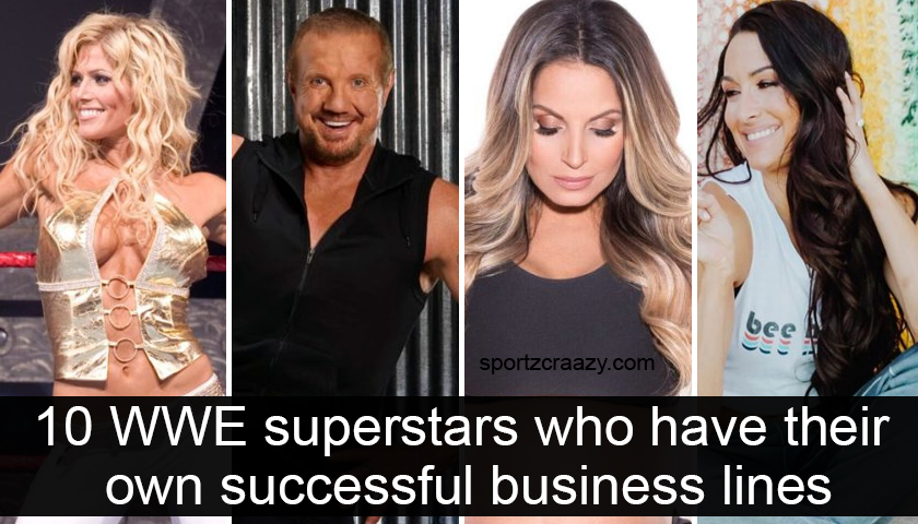WWE Superstars Who Have Their Own Successful Business Lines