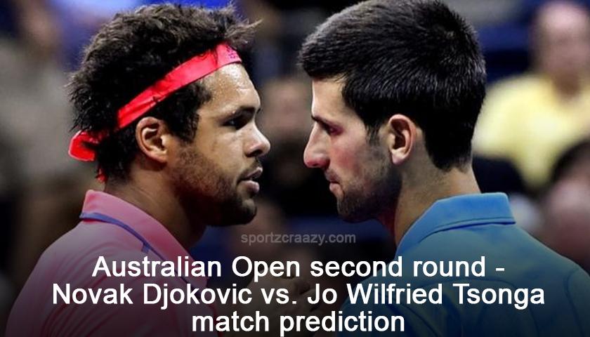 Novak Djokovic vs. Jo Wilfried Tsonga