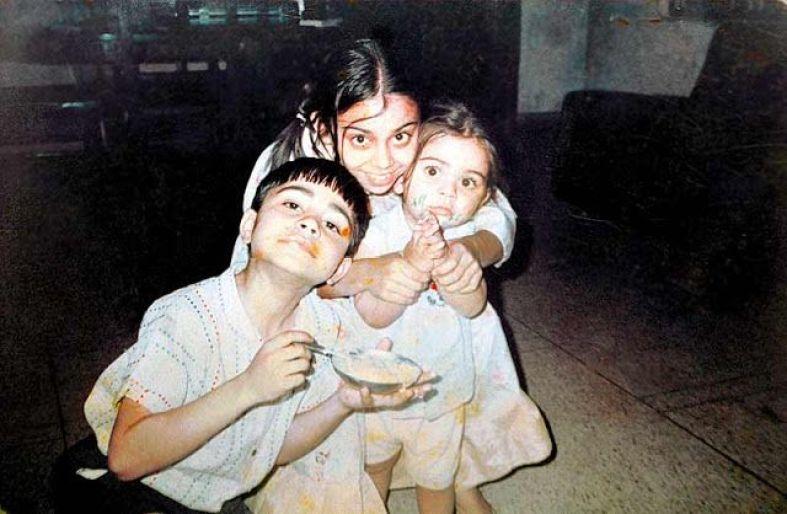 Childhood of Virat Kohli