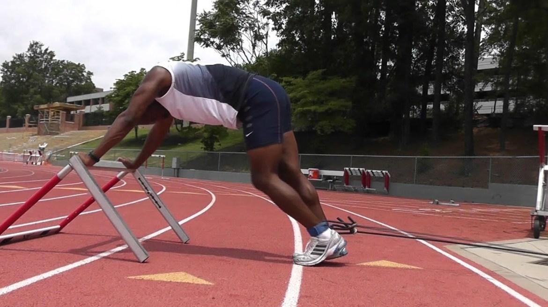 Leg hurdle jumps