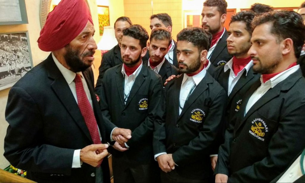 Milkha Singh in in indian army