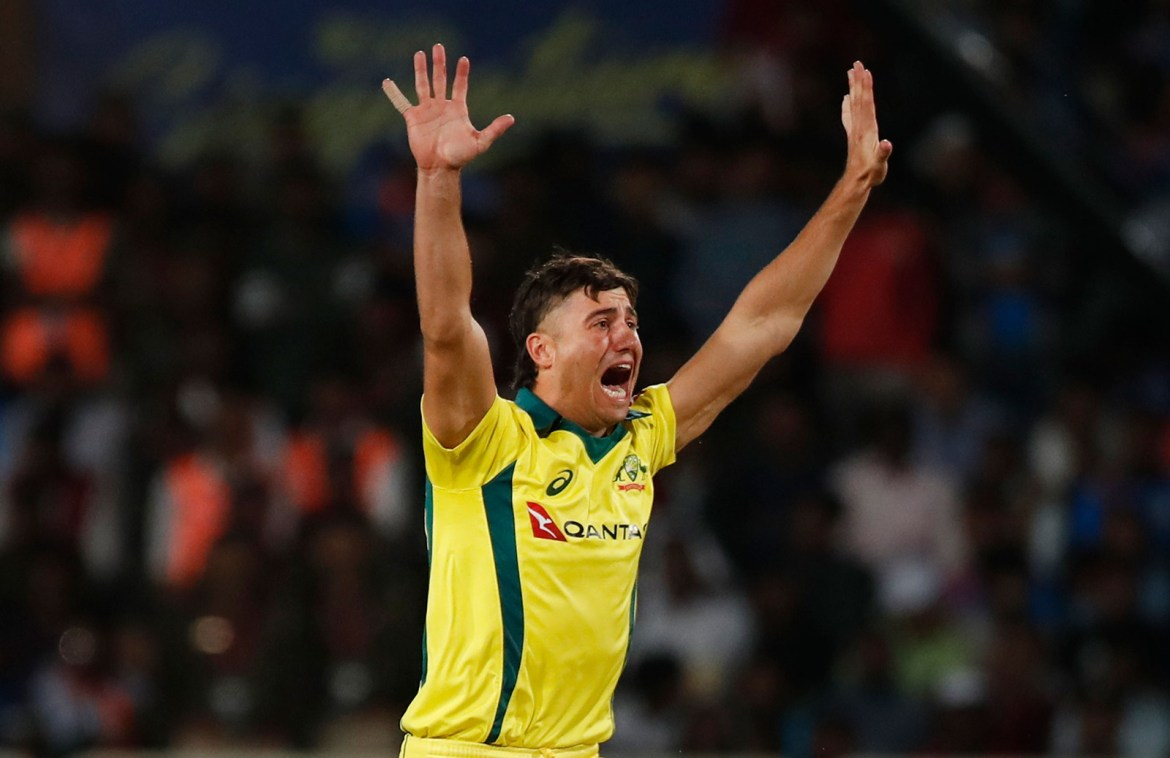 Marcus Stoinis Ruled Out