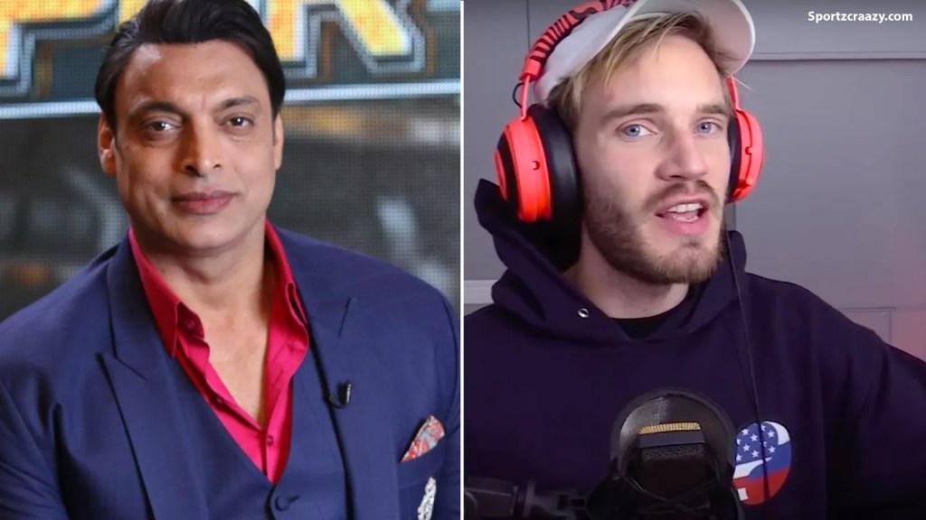 Shoaib Akhtar Leaves Pewdiepie on Youtube