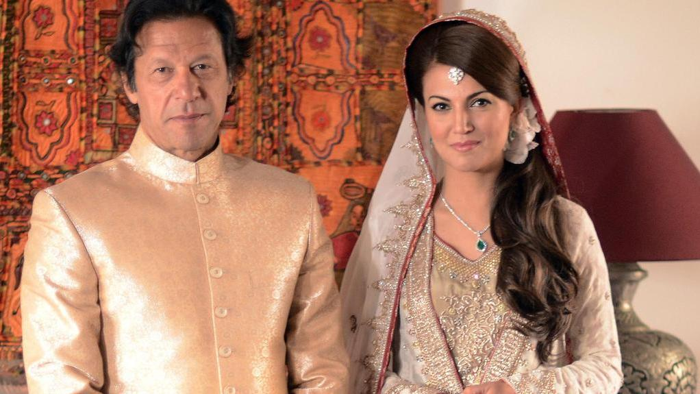 pakistan PM with ex-wife