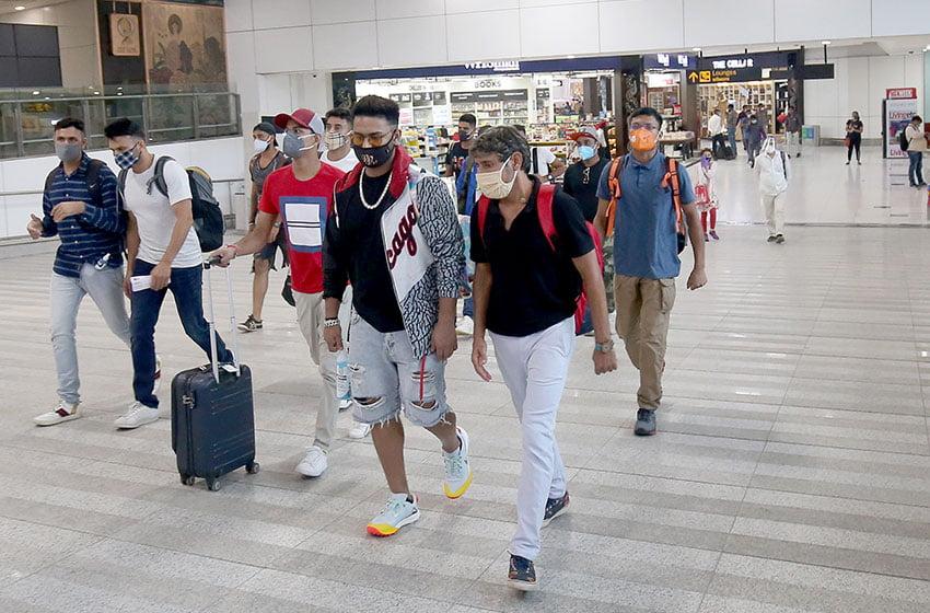 IPL 2020: Delhi Capitals assemble in Mumbai for departure to UAE