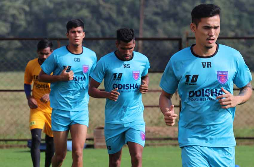 ISL : Odisha FC's Indian players begin training, foreigners start arriving