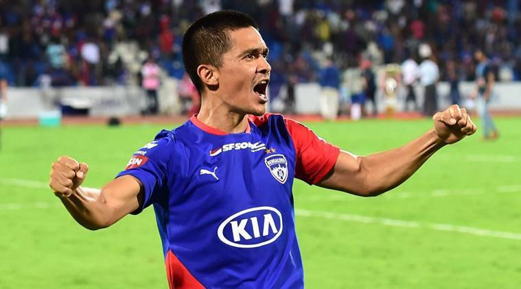 Chhetri signs new two-year contract with Bengaluru FC