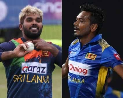 RCB release Hasaranga & Chameera from team bubble