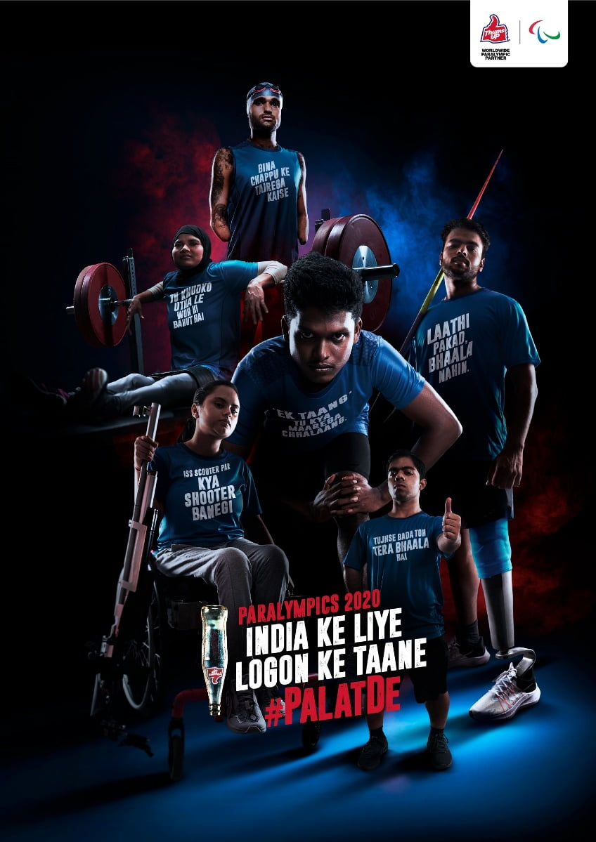 Thums Up becomes first FMCG brand to partner with Tokyo 2020 Paralympic Games
