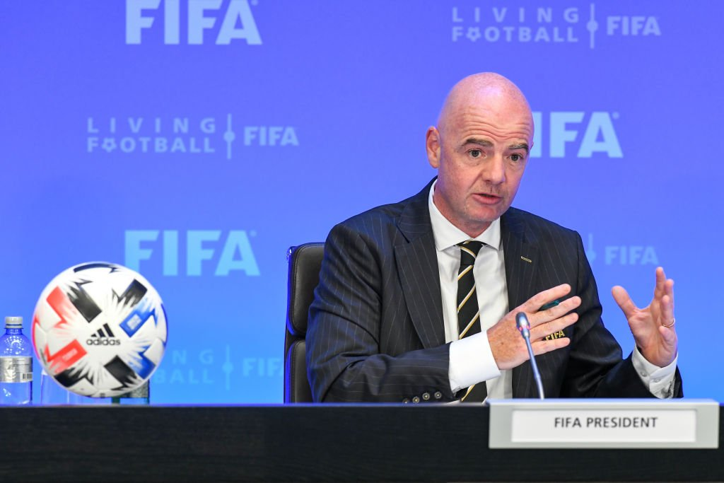 FIFA President calls on global football community to show solidarity with Afghan refugees